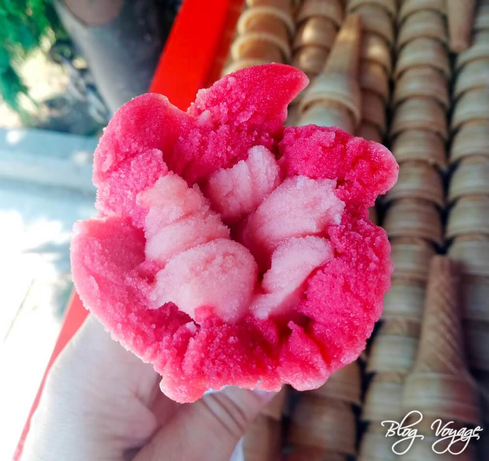Классическое мороженое от Юнуса, остров Бююкада