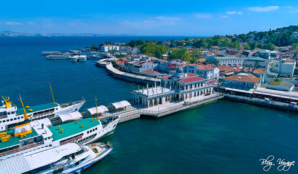 Как добраться на остров Бююкада, Принцевы острова