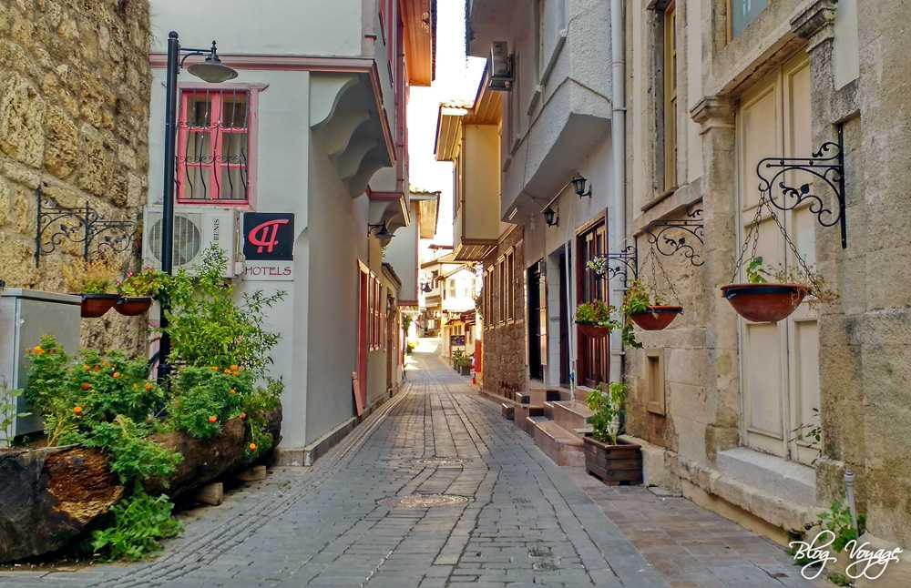 Старые улочки в Калеичи, Анталия