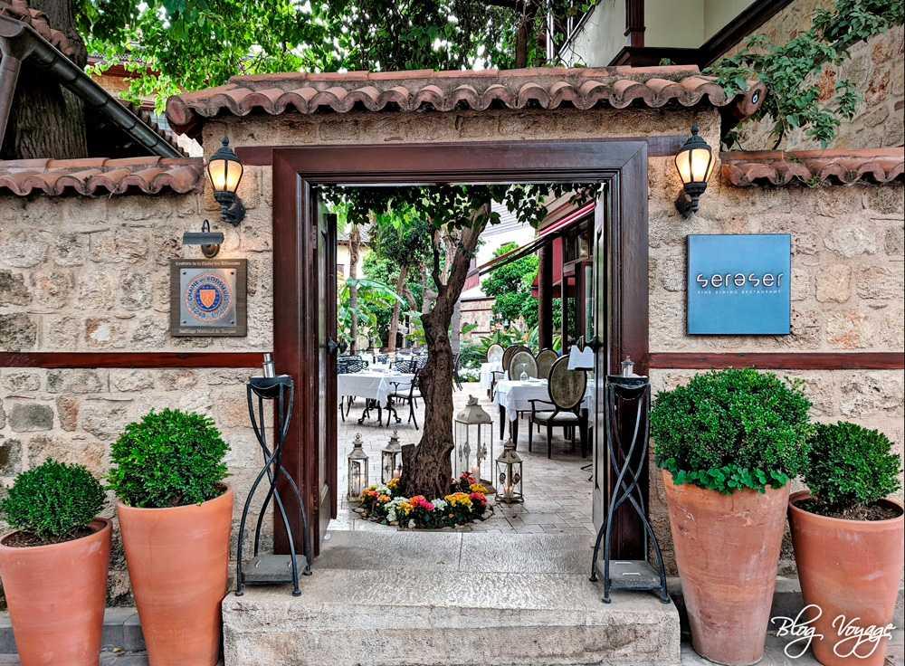 Ресторан Seraser в Калеичи, Анталья